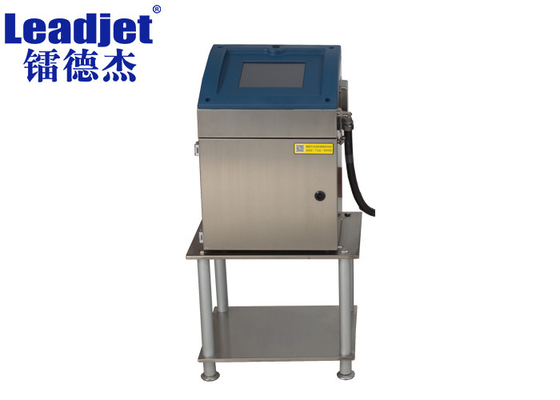 1-4 Lines Industrial Inkjet Barcode Printers 1.5-20mm Logo Inkjet Printer With High Adhesion Ink