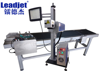 30 W CO2 Laser Coding Machine For PET Bottle , High Photoelectric Conversion Rate